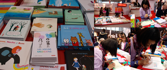 Salon du livre de Paris 2011